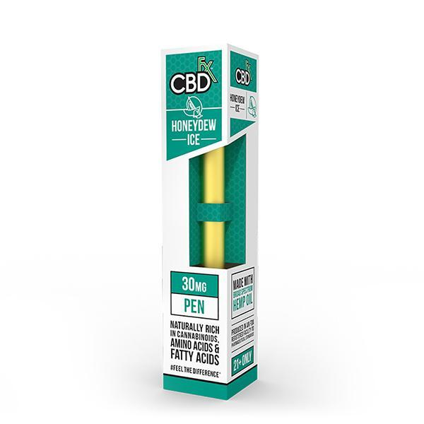 CBD +FX Disposable Pen 30mg Honeydew Ice–Vape