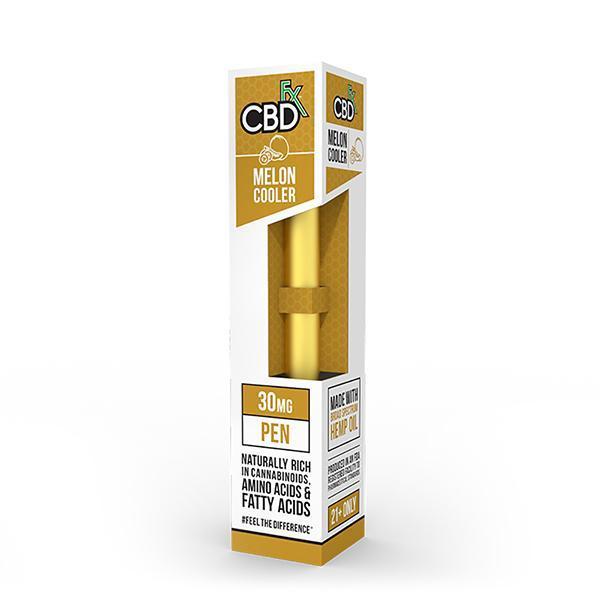 CBD +FX Disposable Pen 30mg Melon Cooler–Vape