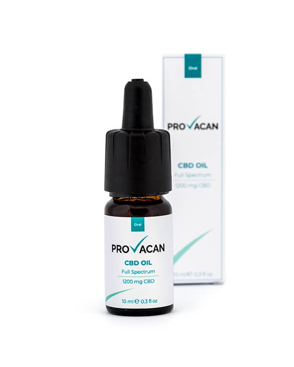 Provacan CBD Oil Full Spectrum 10ml – 1200 mg–CBD Oil